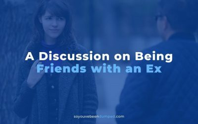 Let's Be Friends (A Real Thread: Friends with an Ex)