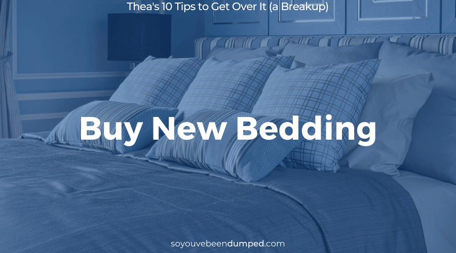 SYBD Tip 7: Buy New Bedding