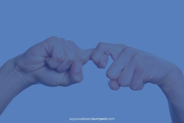 Friendship in your hands - SYBD - exes as friends