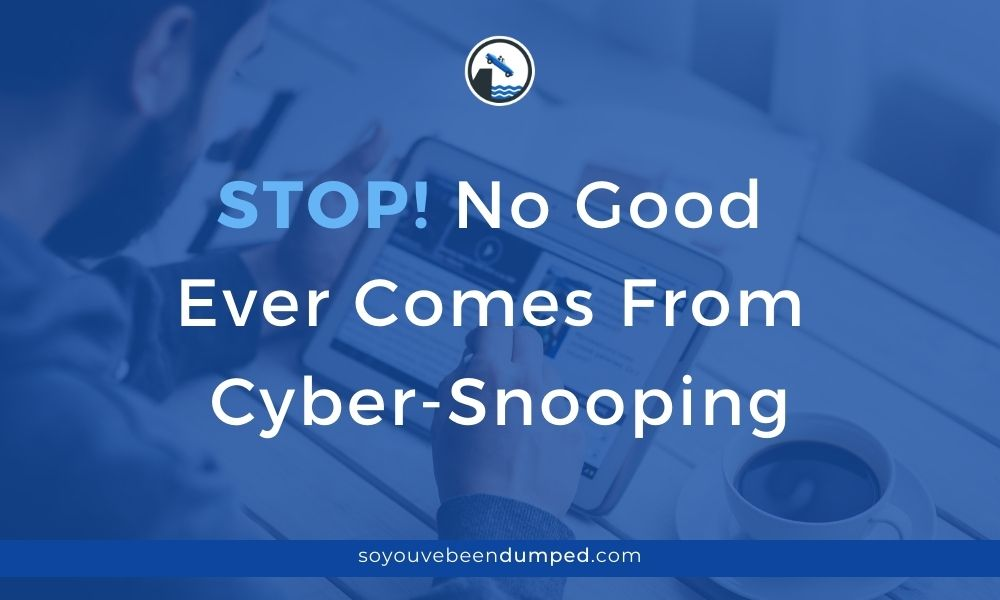 No Good Comes From Cyber Snooping
