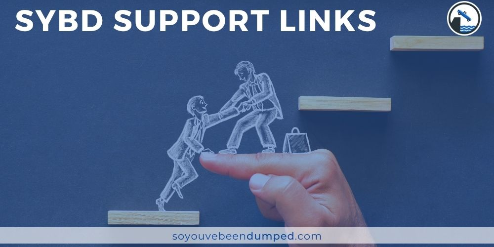 SYBD Support Links Header